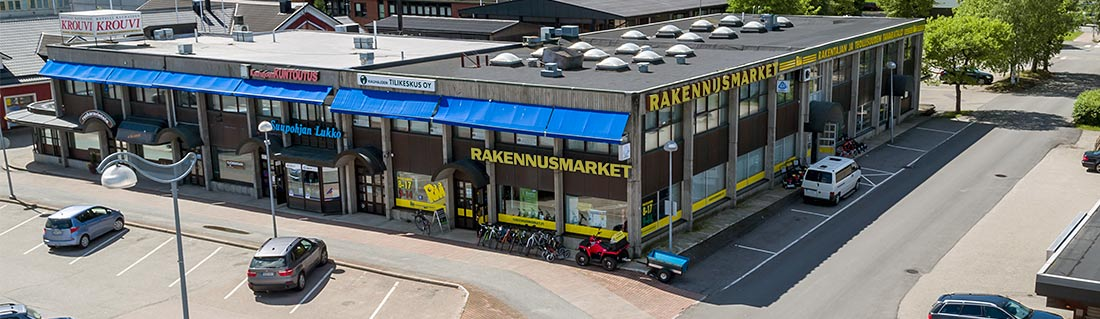 RM Rakennusmarketin ulkokuva